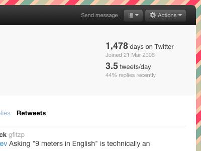 New Twitter UI?