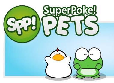 super poke pets logo image